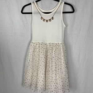 KnitWorks Kids Dress Size 12 Sleeveless Stretch